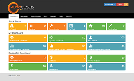 Autocloud Dashboard Screenshot